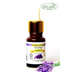 Organic Lavender Essential Oil Undiluted, Certified, Premium Quality 10ml