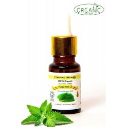 Organic Peppermint Piperita Essential Oil Undiluted, Certified, Premium 10ml